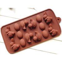 Форма для конфет Утка Заяц Яйцо
