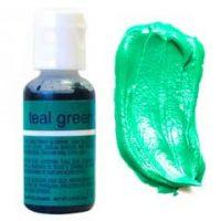 Гелевый краситель Chefmaster Teal Green / Морская волна, 20 гр (США)