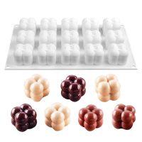 Силиконовая форма для евро-десертов Атомы маленькие