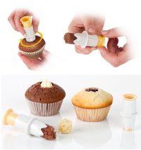 Плунжер-бур для кексов,капкейков(2 шт )
