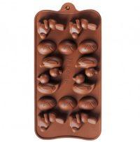 Силиконовая форма для шоколада ассорти