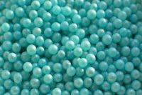Сахарные жемчужины голубые перламутровые 3мм