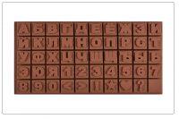 "Форма для шоколада "" Русский алфавит +цифры "" 35/17 см"