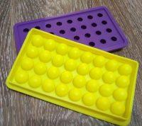 Форма мини круглые конфеты для карамели