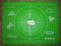 Силиконовый коврик для раскатки теста и мастики