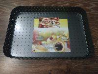 Форма для торта (тарта) прямоугольная  закругленная 31*21см
