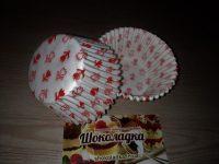 Бумажные формы для кексов № 8  50*40 100 шт