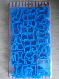 Набор вырубок Алфавит