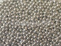 Посыпка шарики серебро