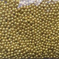 Посыпка шарики золото