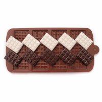"""Форма силиконовая для шоколада """"Плитки шоколада мини """""""