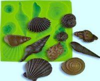 Молд  ракушки морские ассорти