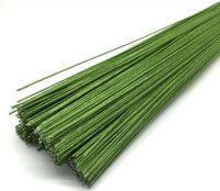 Проволка для цветов зеленая №28(30шт)