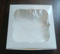Коробка для пряников с окном 200*200*30